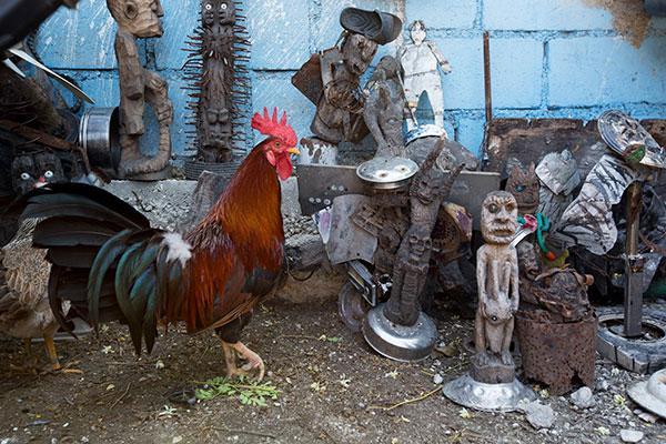 Port au Prince's artist community. Photo courtesy Oana Dragan.