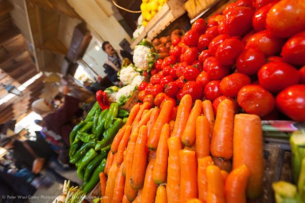 Vegetables At Market, Fez, Morocco