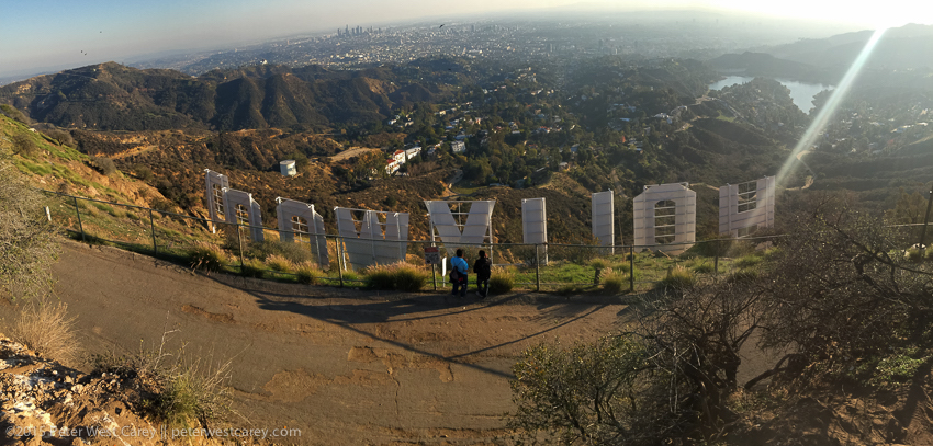 Make an afternoon out of a hike to the Hollywood sign.