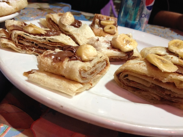 """Feteer, or better known as """"Egyptian pancakes."""""""