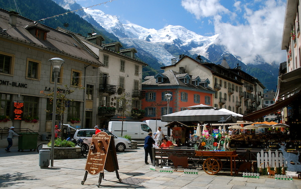 3- The town of Chamonix is a French gem and the best place to pick up any last-minute supplies (and gear!).