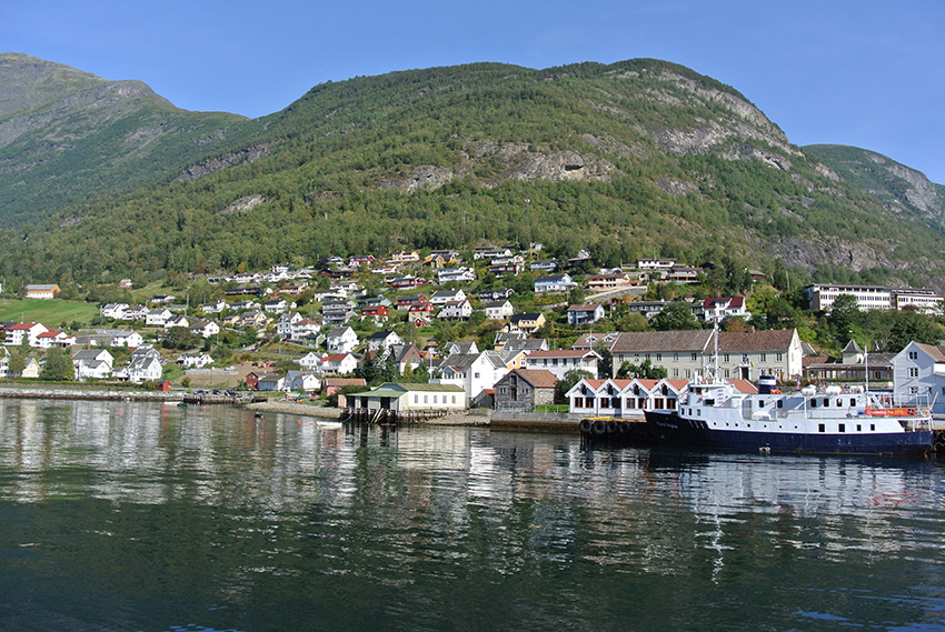 One of the many gorgeous views from the Sognefjord cruise.