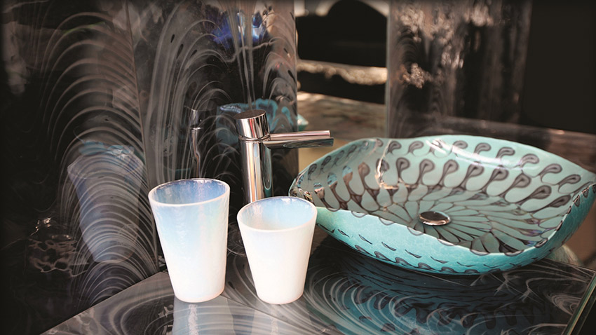 The quality of Murano glass is well known and respected around the world. Photo courtesy Fornace Ferro Murano.