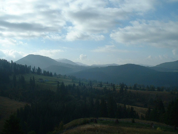 The Carpathians are a must see for any visit to Transylvania. Photo by R. Cornwall.