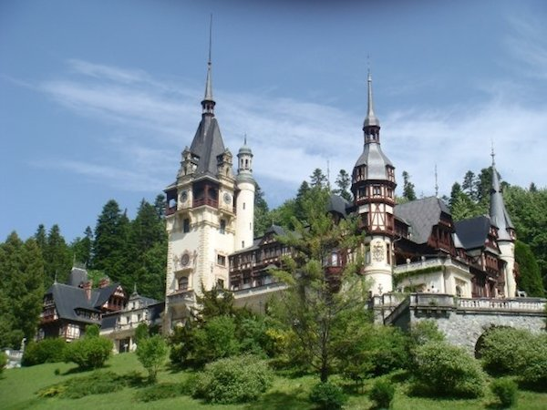 Peles Castle is far and away one of the most beautiful castles in Europe.