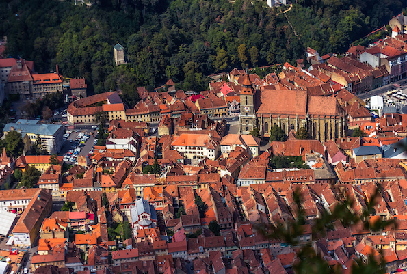 The old city of Brasov, Romania. Photo courtesy Sorin M.