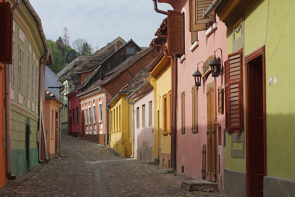 The charming streets of Sighisoara. Photo courtesy Charles R.