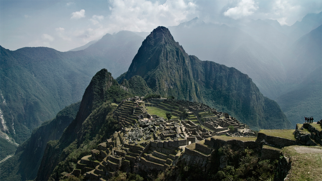 A picture-perfect Machu Picchu was our reward after a day of hiking.