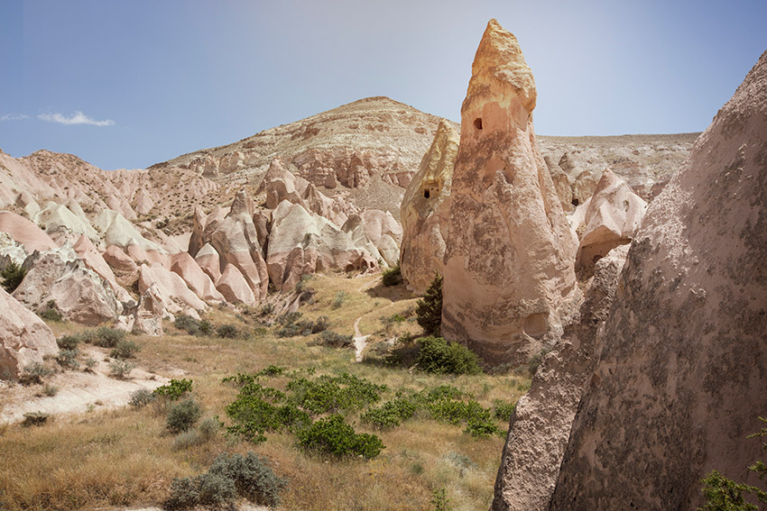 Rose Ridege Valley in Cappadocia.