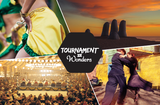 The 2014 G Adventures Tournament of Wonders.