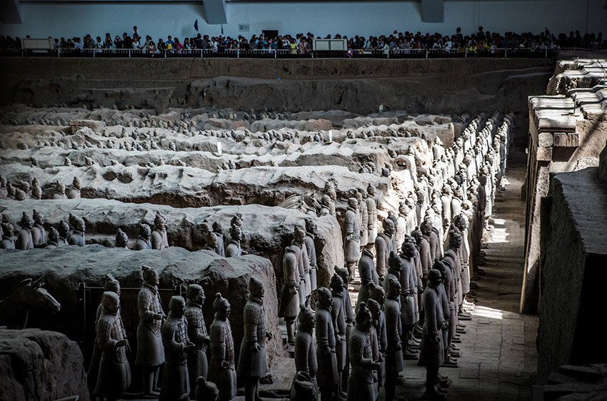 The Terracotta Warriors are a must-see for any trip to China. The magnitude of this historical site almost defies description.