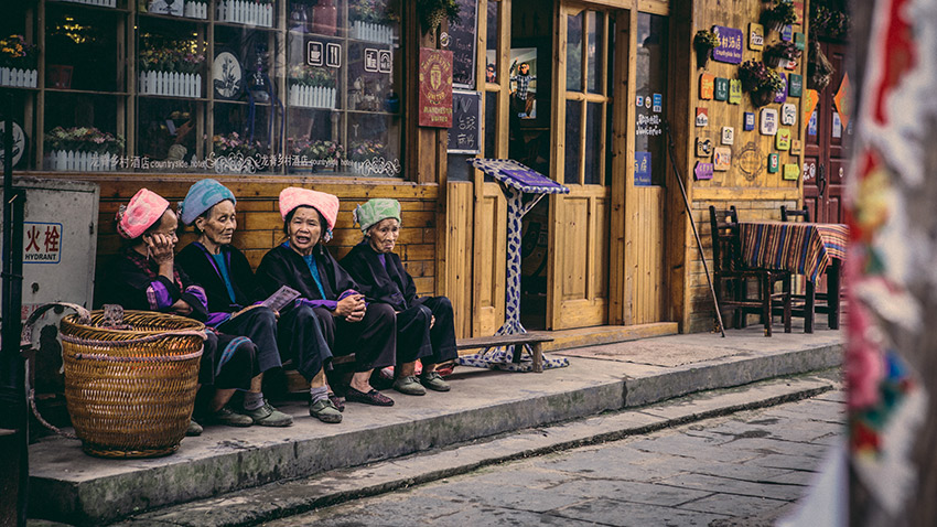 The culture and scenery of the remote villages around Longsheng are a stark contrast to the bustling big cities of China.